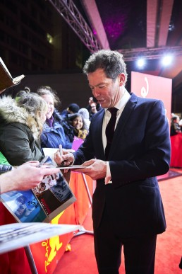 Dominic West at the Stateless premiere in Berlin